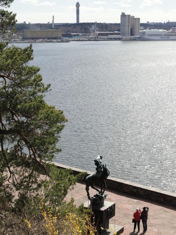 Desde la terraza del Millesgården.Foto R.Puig