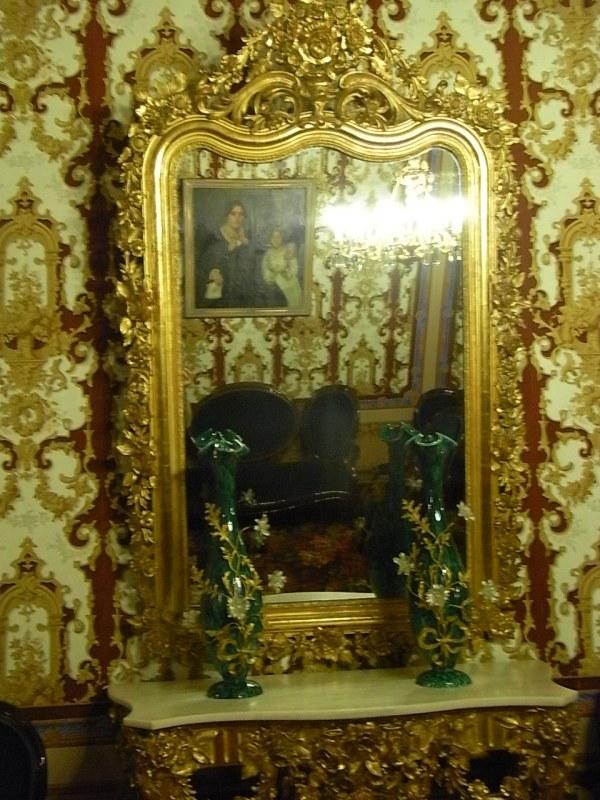 En el fondo del espejo.Casa Turull. Foto R.Puig