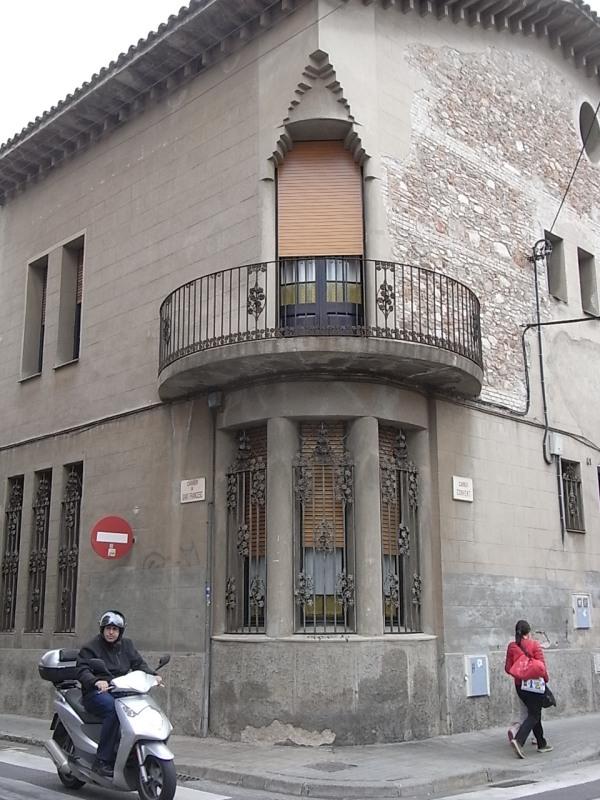 Esquina calles Sant Francesc y Convent.Foto R.Puig. JPG