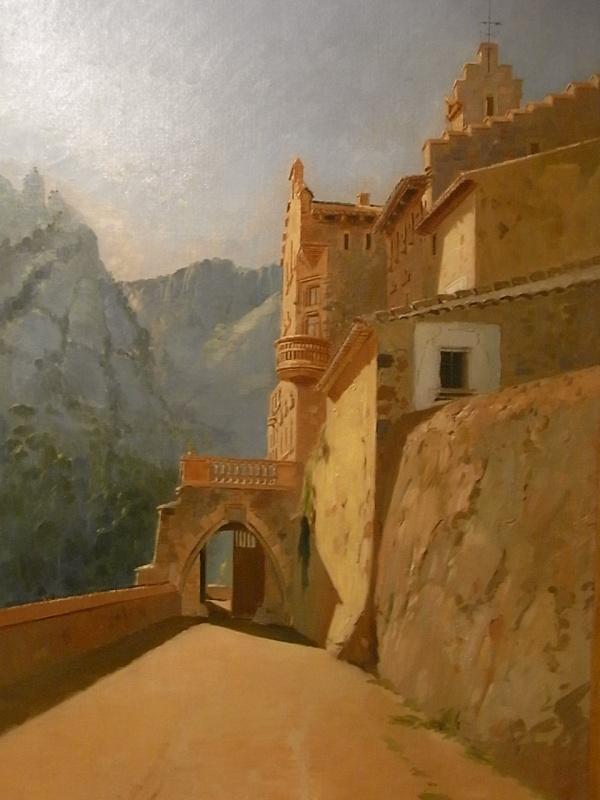 Joan Vila Cinca. Marquet de les Roques.Museo de Arte de Sabadell. Foto R.Puig
