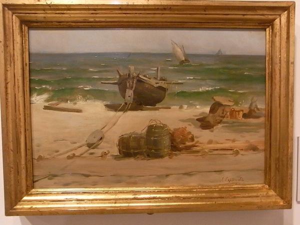 Josep Espinalt. Marina 1890. Museo Arte Sabadell.Foto R.Puig
