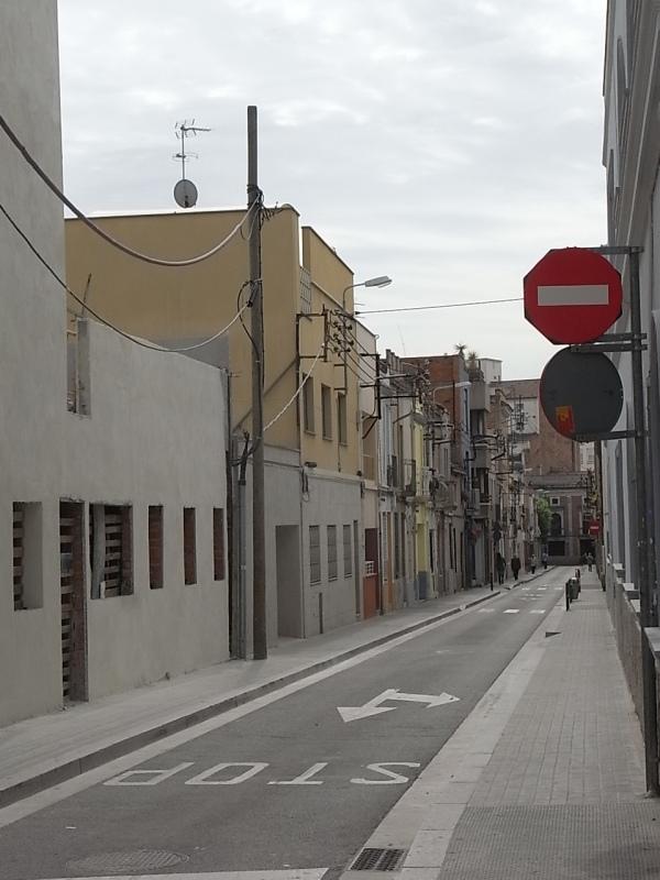Por el barrio de El Taulí. Foto R.Puig
