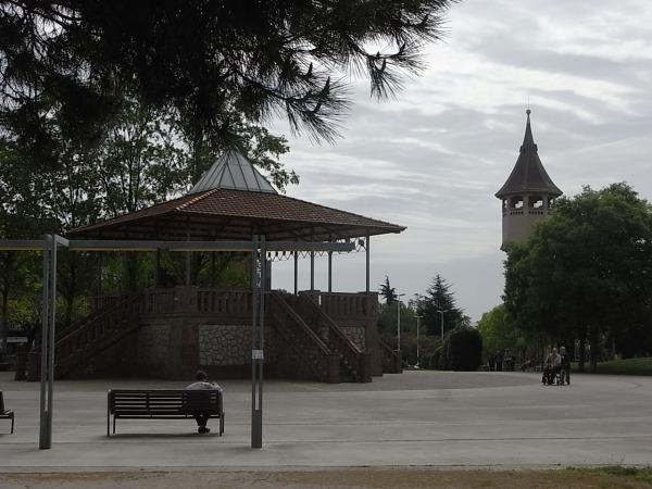 Torre del agua Sabadell en el Parc Taulí.Foto R.Puig