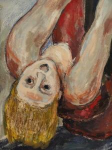 Albin Amelin. Escena de calle.1932.Detalle.Moderna Museet.Estocolmo.Foto R.Puig