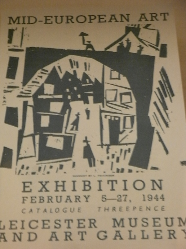 Cartel de la exposicion de 1944.Museo Leicester. Foto R.Puig