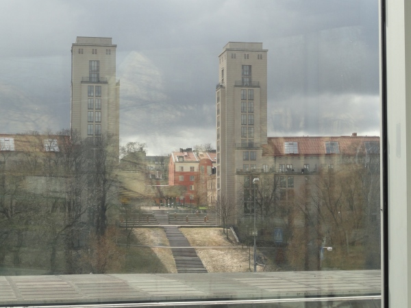 Desde la ventana del Bonnierskonsthall.Foto R.Puig