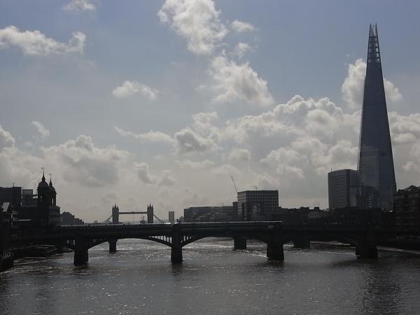 Desde Millenium Bridge. Londres. Foto R.Puig.