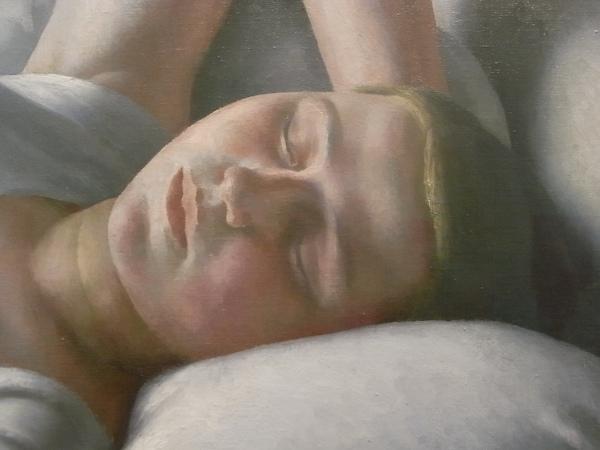 Dod Procter. Morning.Detalle. Tate Modern. Foto R.Puig