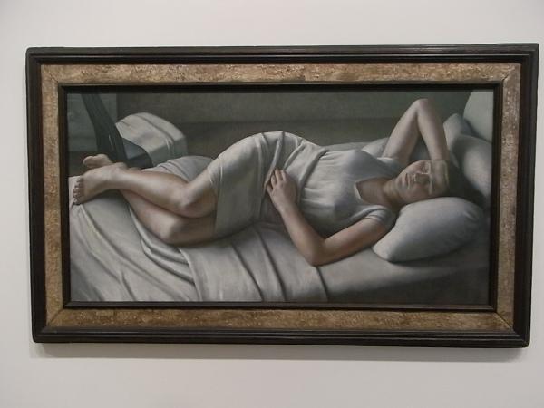 Dod Procter. Morning.Tate Modern. Foto R.Puig