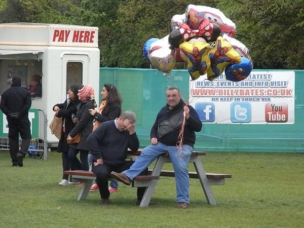 En la Fun Fair.Leicester. Foto R.Puig