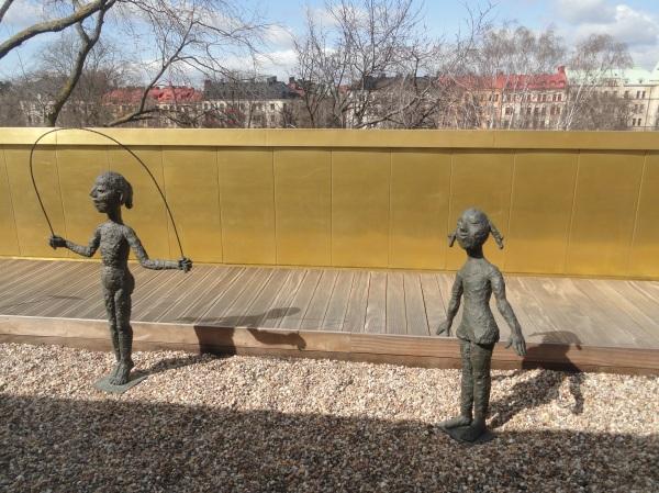 En la terraza. Sven Harris Museet. Estocolmo. Foto R.Puig.