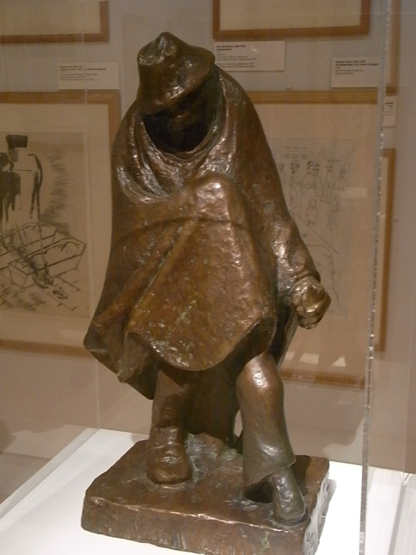 Ernst Barlach. Jolly Peg-Leg. 1934.Museo Leicester. Foto R.Puig
