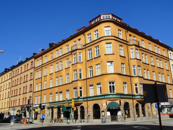 Esquina de Södermalm.Estocolmo. Foto R.Puig