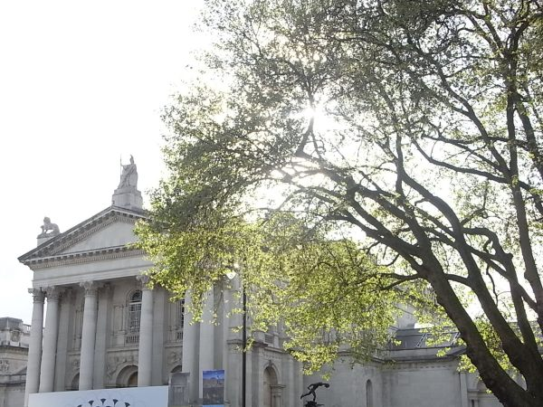 Fachada de la Tate Britain. Londres Foto R.Puig.