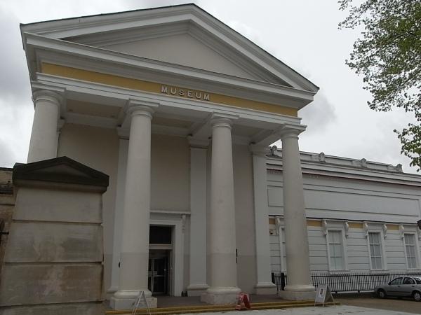 Fachada del Museo de Leicester en el New Walk. Foto R.Puig
