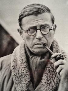 Fotografiska Museet.Estocolmo.  Jean-Paul Sartre por Henri Cartier-Bresson