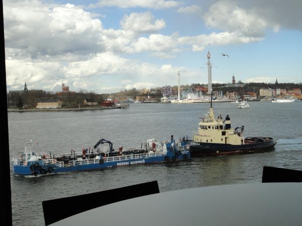 Fotografiska Museet. Estocolmo.Vista desde la ventana del restaurante.Foto R.Puig
