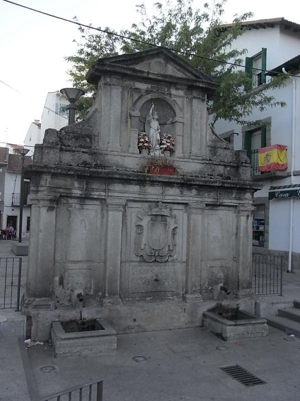 Guadarrama. Fuente de San Miguel.1735.Foto R.Puig.