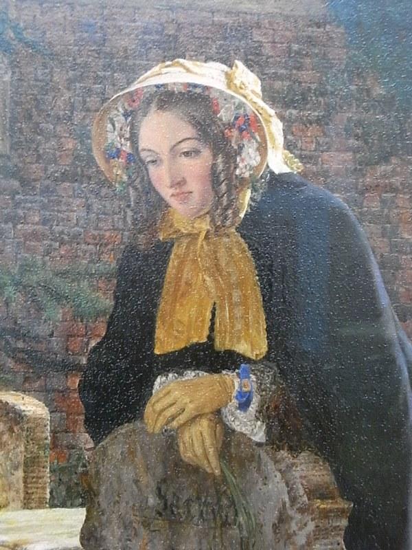 Henri Alexander Bowler. La duda o Podrán resucitar estos huesos.Tate Britain.Foto R.Puig.