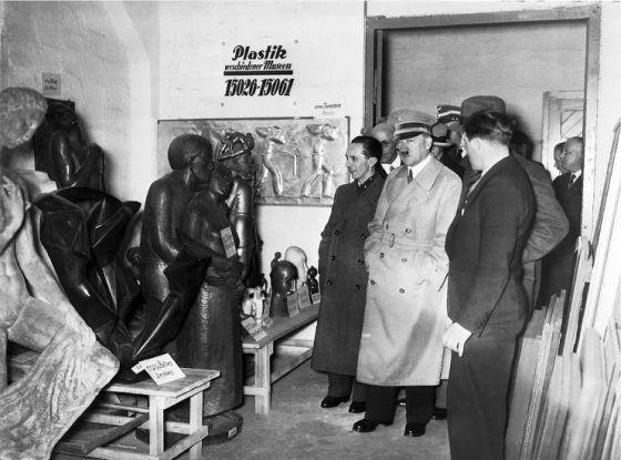 Hitler y el arte degenerado.El Pais