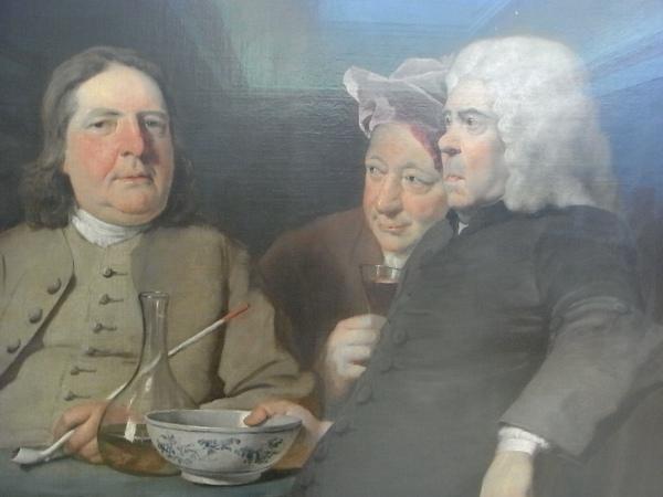 Joseph Highmore.Mister Oldham y sus huespedes.Tate Britain.Foto R.Puig