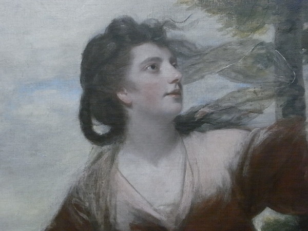 Joshua Reynolds.Three ladies adorning a terme of Hymen. Detalle.Tate Britain.Foto R.Puig