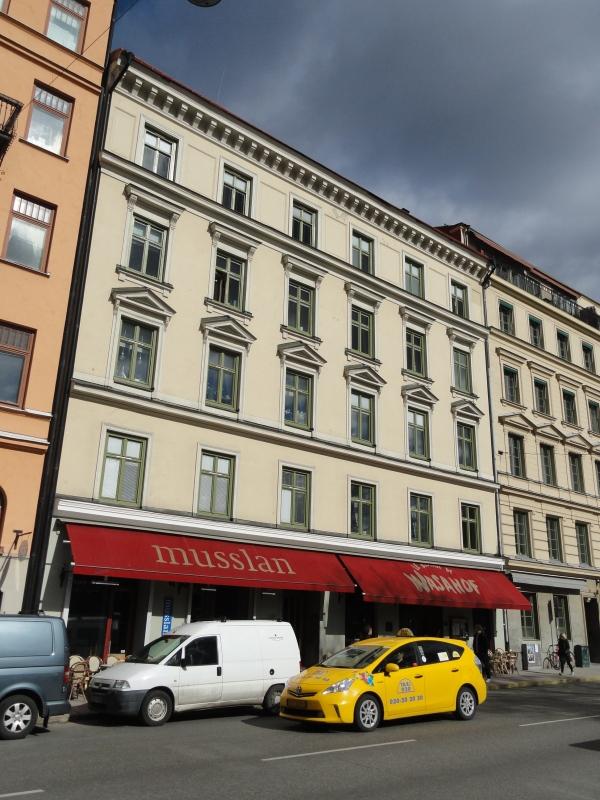 La casa donde vivió  Astrid Lindgrens en Vasastan. Estocolmo. Foto R.Puig