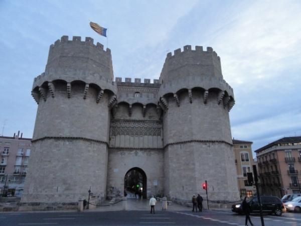 Las torres de Serranos. Fines del siglo XIV. Valencia. Foto R.Puig.