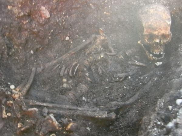 Los huesos de Ricardo III.Leicester.