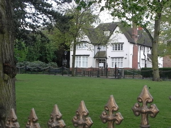 Mansion en el New Walk. Leicester. Foto R.Puig