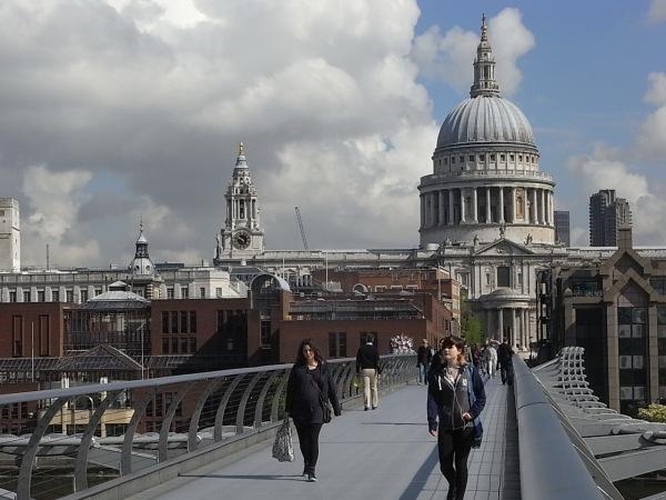 Milennium Bridge. Londres. Foto R.Puig.