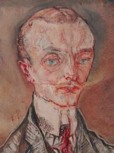 Oskar Kokoschka. Retratro del Marqués Josef de Montesquiou-Fezensac.1910. Moderna Museet.Estocolmo.Foto R.Puig