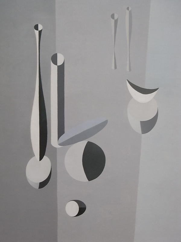 Paule Vezelay. Formas del gris.Tate Modern. Foto R.Puig