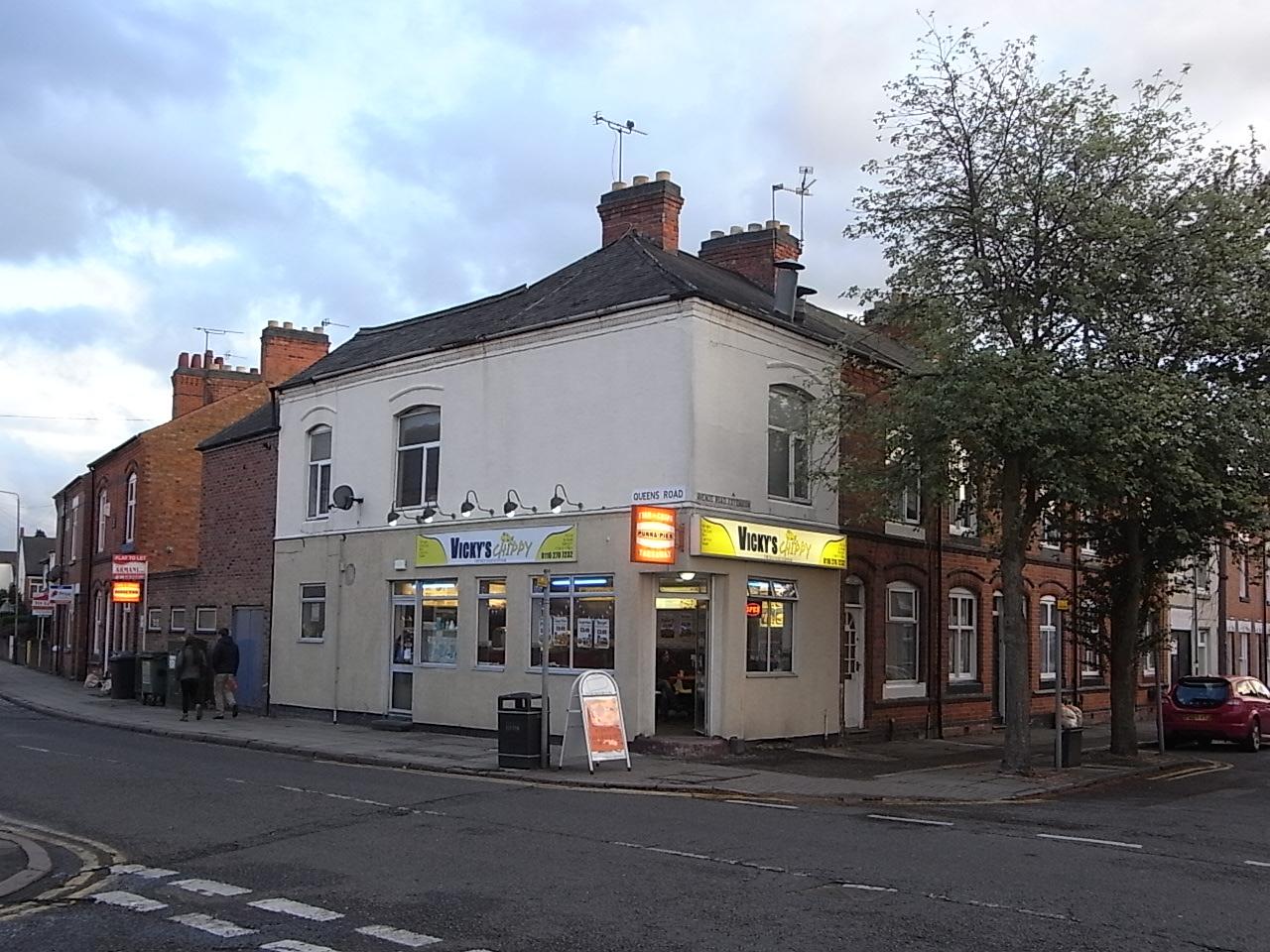 Knitting Queens Road Leicester : Divagaciones inglesas ii por el museo y las calles
