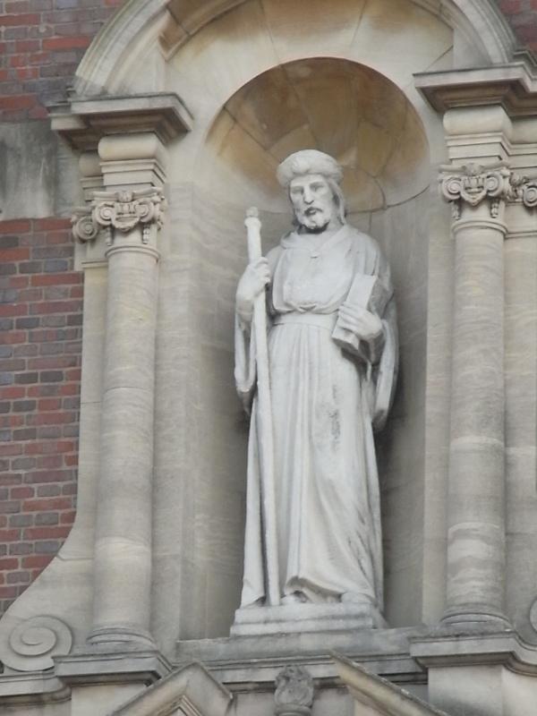 Santiago el Mayor. Iglesia de St.James. Leicester. Foto R.Puig