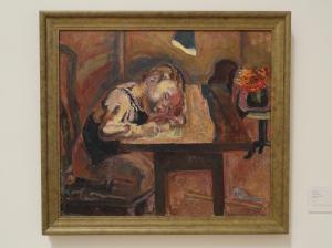 Vera Nilsson. A la luz de la lampara. ca.1930.Moderna Museet. Estocolmo. Foto R.Puig