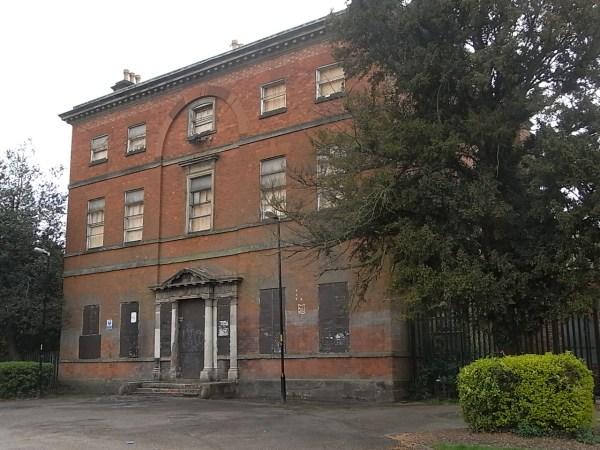 Vieja mansion del parque.Leicester. Foto R.Puig