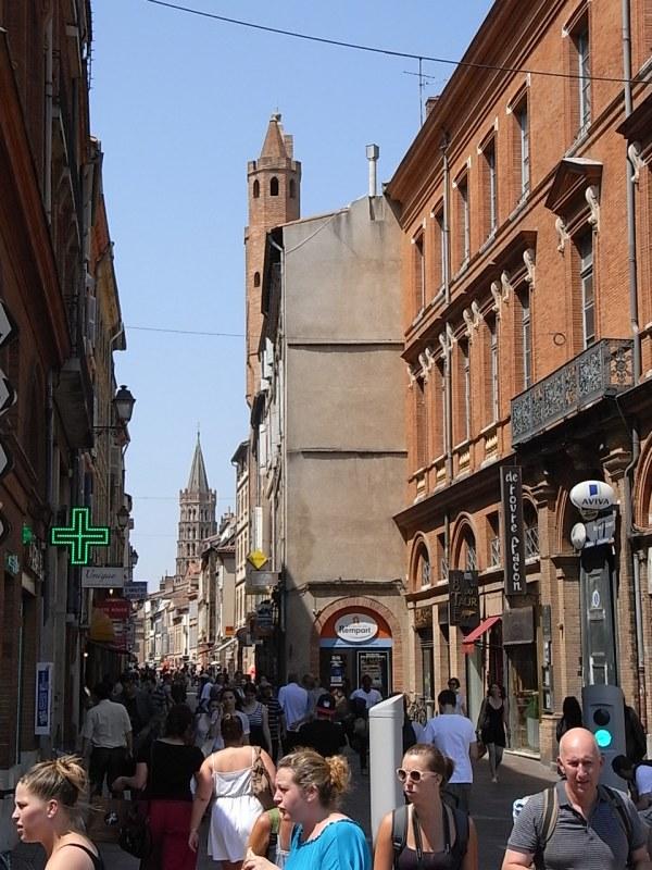 Calle del Toro. Toulouse. Foto R.Puig.