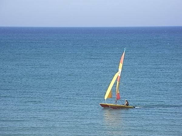Calma y voluptad. Playa Almadrava. Foto R.Puig.