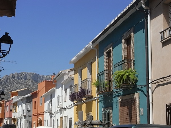 Casas del siglo XVII. Els Poblets. Foto R.Puig.