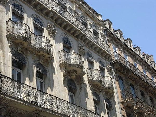 El arte del balcón. Toulouse. Foto R.Puig.