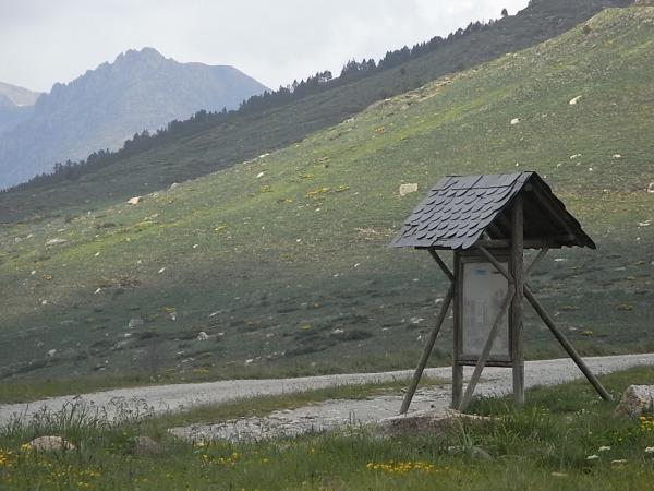 En el Col de Puymorens. Foto.R.Puig