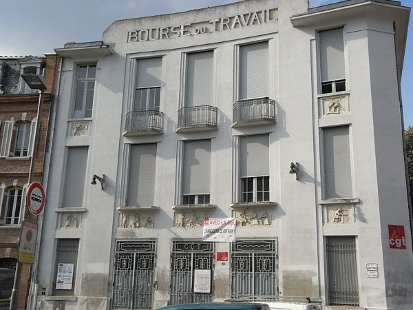 Fachada Art Deco de la sede de la CGT. Toulouse. Foto R.Puig.