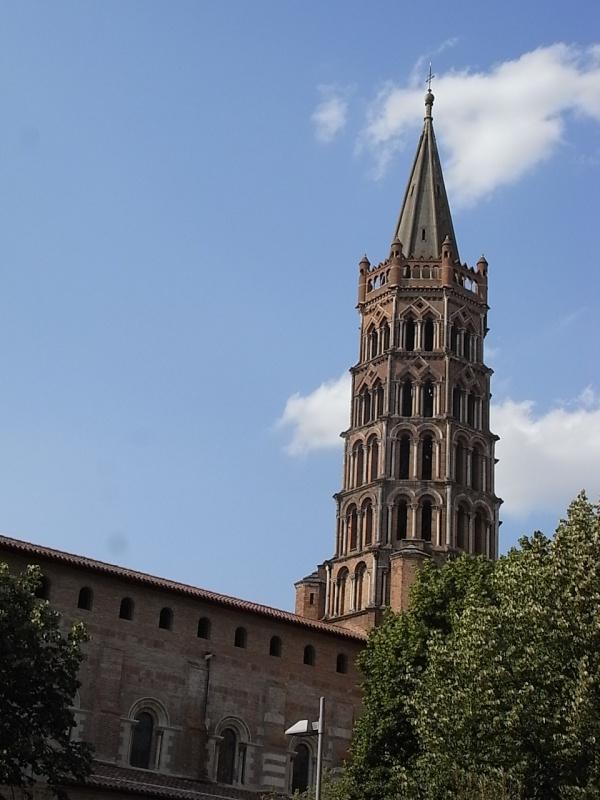 Iglesia de Saint Sernin.Toulouse. Foto R.Puig.