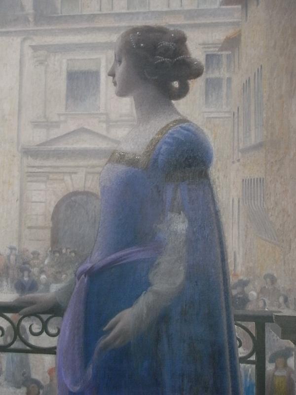 La bella Paula. Henri Rachou. Detalle. Capitolio de Toulouse.Foto R.Puig.