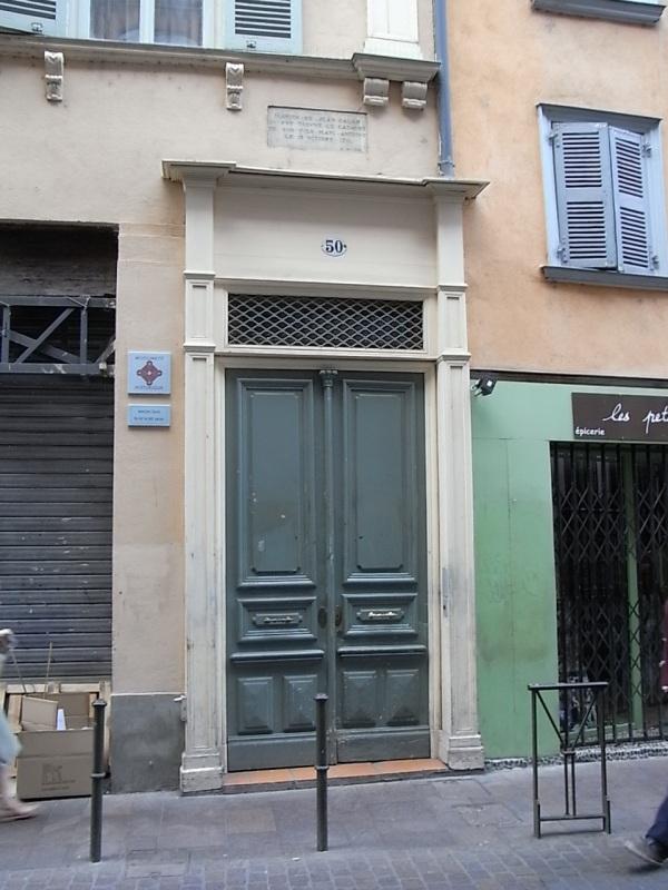La casa de Jean Calas. Toulouse. Foto R.Puig.