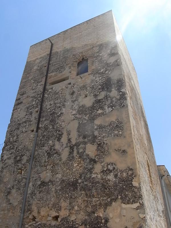 La torre medieval de Mira-rosa. Els Poblets. Foto R.Puig.