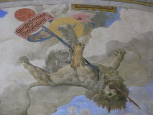 Monfort ha muerto. Viva Toulouse. Capitolio de Toulouse. Foto R.Puig.