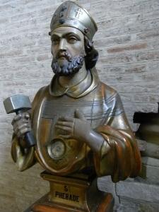 San Febado. Basilica de Saint Sernin. Toulouse. Foto R.Puig.