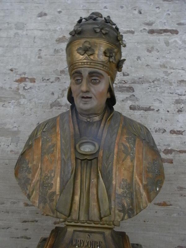 San Gregorio el Grande. Basilica de Saint Sernin. Toulouse. Foto R.Puig.